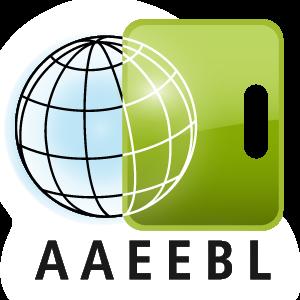 AAEEBL logo: globe